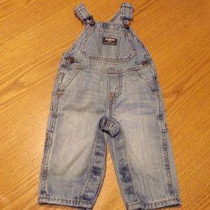 Oshkosh B'Gosh ~ Infant Size 3-6 Mos. Bib Overalls
